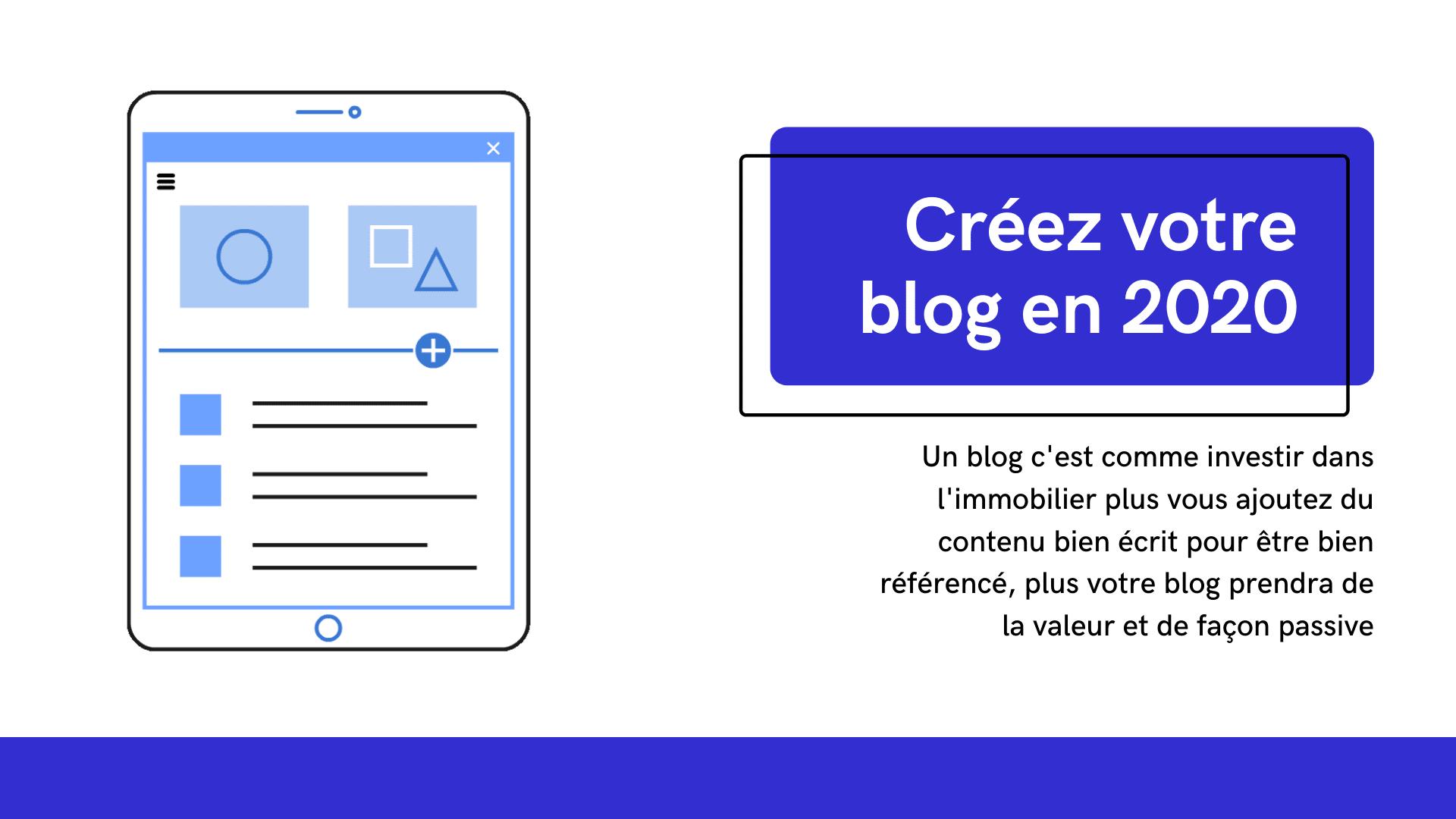 créer votre blog