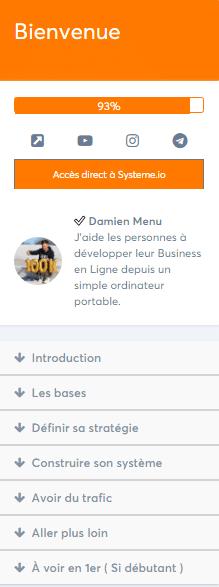 Avis formation N° 1 commissions en automatique de Damien Menu